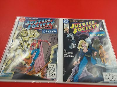Justice Society of America #1-2 (1991)