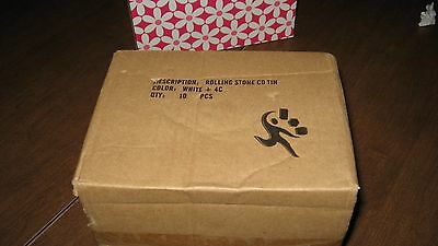 Unopened Box 10 ROLLING STONES Exploded Tongue Collector Tins