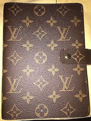Louis Vuitton MM Agenda in Monogram Print