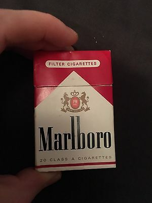 Marlboro Red French Vintage Cigarette Box Empty OFFERS WELCOME
