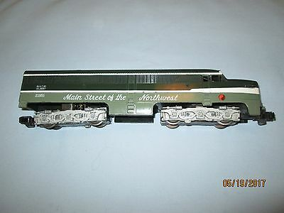 American Flyer #21551 Northern Pacific Diesel Locomotive. Runs Well. VG+