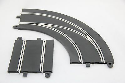 Scalextric Digital Track - C7007 - Lane Changing Curve - Left Handed Out To In