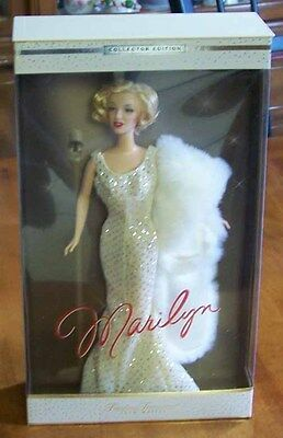 Marilyn Monroe Barbie - 2001 Mattel - Timeless Treasures Collection - NEW