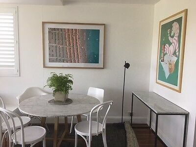 Marble Console Table - West Elm Brand New MOSMAN