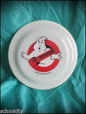 Rare Vintage Ghostbusters Movie Cereal Mail Order Frisbee Ghost busters Sealed