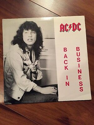 AC/DC ‎– Back In Business (Vinyl, LP, Unofficial Release ) Sweden 1986