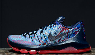 985a9c2542b NIKE KD 8 VII USA INDEPENDENCE DAY JULY 4TH Size 11. 749375-446 jordan