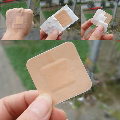 Waterproof Band Aid Wound Dressing Stickers First Aid Bandage Adhesive Plaster