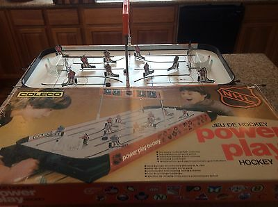 Coleco 5170 Table Hockey Game From 80's With 4 Teams
