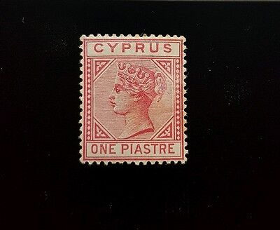 Cyprus Stamp 21 Mint MVLH, Queen Victoria!