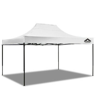 NEW INSTAHUT 4.5 X 3 Pop Up Gazebo - White