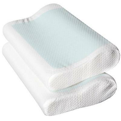 NEW Set of 2 Cool Gel Top Memory Foam Pillow