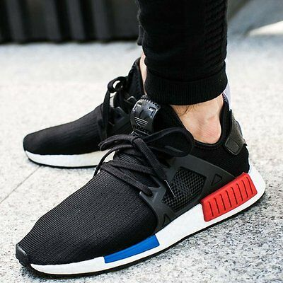 77b665f0e0b5e Adidas NMD XR1 PK OG Core Black Blue Red Size 11.5. BY1909 Ultra Boost Yeezy