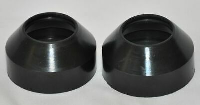 2 New Motorcycle Fork Dust Boots 36x55x25mm