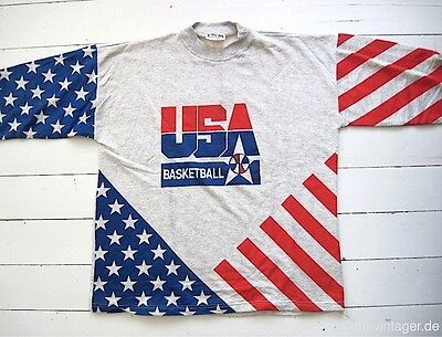 NOS 1990s USA BASKETBALL SWEATER XL Dream Team Olympic Games National Champion