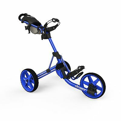 Clicgear 3.5+ Golf Push Cart, Blue FREE SHIPPING (BRAND NEW)