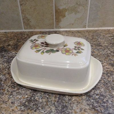 Autumn Leaves Butter Dish Marks And Spencer M & S