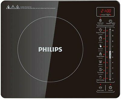 NEW Philips HD4992-72 Ultra-thin Induction Cooktop