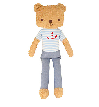 Alimrose -  Alfie Cuddle Bear 55Cm - Pale Blue