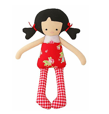 Alimrose Martha Doll Red Floral 26Cm