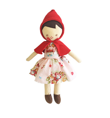 Alimrose Lil Red Riding Hood Doll 25Cm Pink Nursery