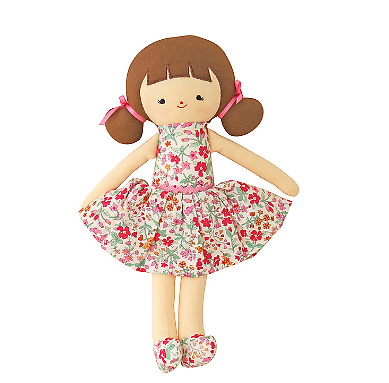 Alimrose Audrey Doll 26Cm - Flower Bouquet