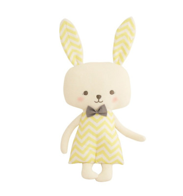 Alimrose Large Bunny 40Cm - Butter Chevron