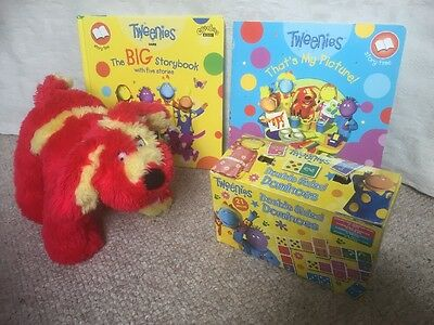 CBeebies Tweenies Storybooks Large Double Sided Dominos Doodles Soft Toy