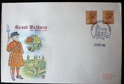 GB 1986 Definitive Stamps Great Britain FIRST DAY COVER  windsor