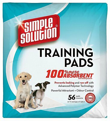Simple Solution Puppy Dog Training Pads (56Pk)