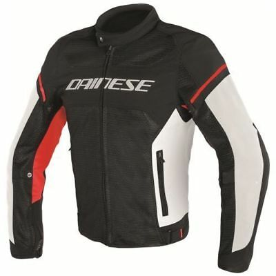 Dainese Air Frame D1 Tex Jacket Black White Red, Motorcycle Jacket, NEW!