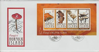 Norfolk Island Fungi of the Island 2009 First Day Cover