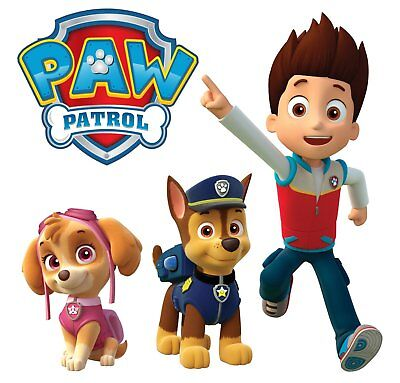 Paw Patrol Movable Wall Stickers