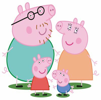 Peppa Pig Movable Wall Stickers
