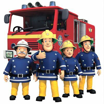 Fireman Sam Movable Wall, Toy Box Stickers