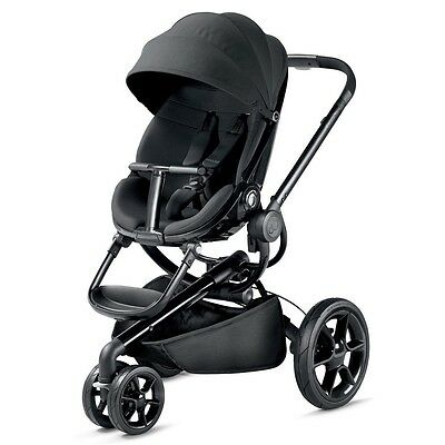 Quinny Moodd 2016 Black Devotion Baby Carriage MODEL - 76609210  NEW