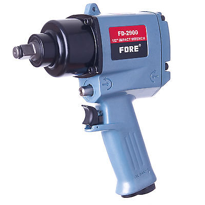 "Air Impact Wrench Twin Hammer 1/2"" Inch SQ Drive FORE MAX 1091 ft. lb. 1480Nm"