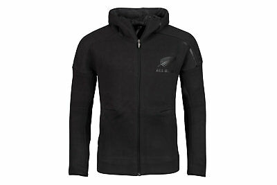 adidas New Zealand All Blacks 2017/18 Territory Anthem Rugby Jacket