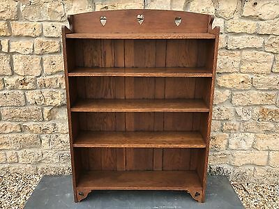 Original Antique Arts and Crafts LIBERTY oak bookcase