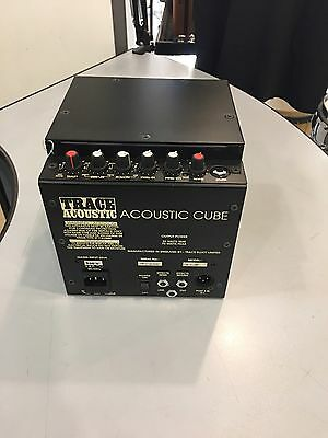 "TRACE ELLIOT ACOUSTIC ""CUBE"" Amplificatore Per Chitarra Acustica MADE IN ENGLAND"