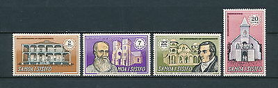 Samoa #321-4 MNH, 8th Anniversary of Independence, 1970