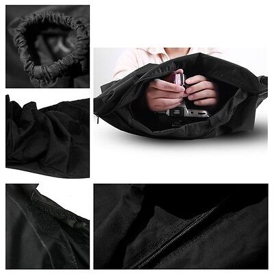 Film Changing DarkRoom Bag Dark Room Load Photo Zipper Camera Bag 60cmx59cm