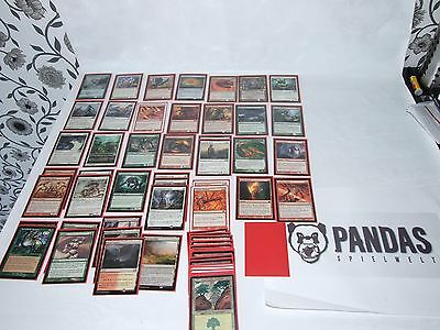 MtG Magic the Gathering rot grün weißes Sliver Deck