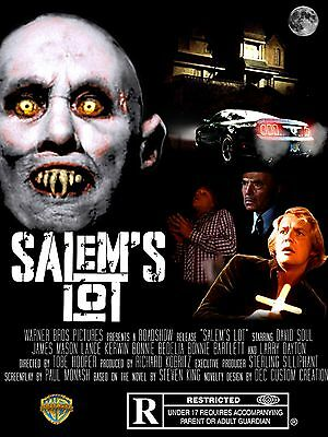 "Salems Lot 16"" x 12"" Repro Movie Poster Photograph"