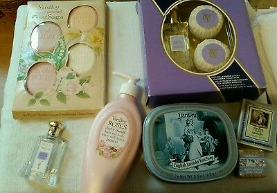 Large selection of vintage Yardley beauty items