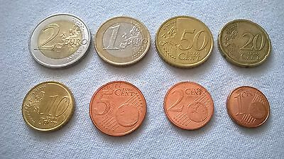 Slovakia euro coins set - XF - about UNC