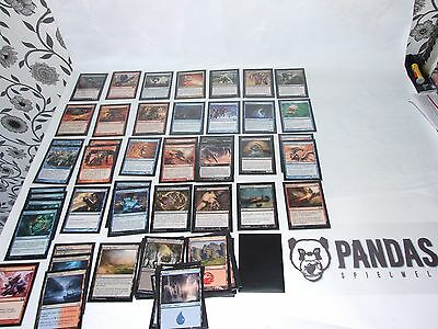 Magic the Gathering blau rot schwarzes Sliver Deck