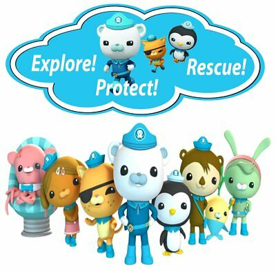 Octonauts Movable Wall Stickers