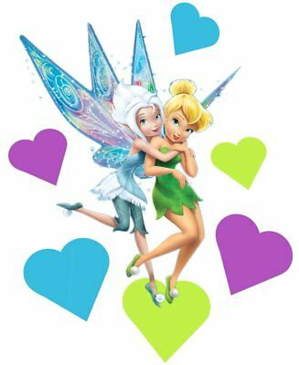 Tinkerbell and Periwinkle Movable Wall Stickers