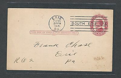 mjstampshobby 1908 US Post Card VF Cond Vintage RARE (Lot1438)